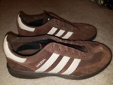shoes adidas hb spezial brown suede tan leather US 10 2007 adiprene torsion euro