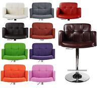 Tabouret de bar Los Angeles simili-cuir fauteuil couleurs diverses NEUF