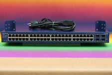 Netgear GS748T v.3 ProSafe Gigabit 48 Port Switch mit 4 SFP-Ports Server