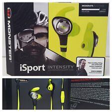 Monster iSport Intensity In-Ear Wired Headphones & In-line Remote Green OPEN-BOX