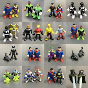 """Lot Imaginext DC Comics Super Friends Power Ranger Superhero 2.8"""" Action Figure"""