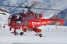 Alouette III Sécurité Civile - Alerte 1/43 résine - photo origine Hélicopassion
