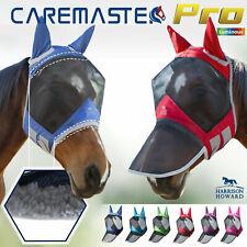 Harrison Howard CareMaster Pro Luminous Fly Mask Fleece padded Anti-UV Free PP