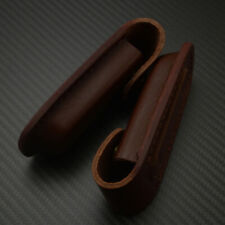 High Quality Real Leather Durable Sheath Pocket Case For Folding Knife Tools