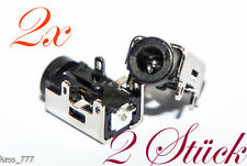 Asus Eee PC 1008hag 1008 HA 1005hr DC Power Jack Connector Socket Courant Prise 2x