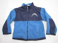 Los Angeles Chargers jacket coat boys Size 3t, 4t/5t  blue yellow DEAL $56 NEW