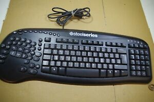 Steelseries Merc Keyboard gaming USB tested working English UK layout