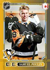 Samuel Poulin 2019 HH cards NHL Draft Penguins #27 2/10 Canada