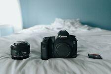 Canon EOS 5D Mark III 22.3MP Digital SLR Camera W/ ACCESSORIES