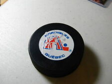 Gilbert Delorme Quebec Nordiques Signed Autographed Hockey Puck W/COA