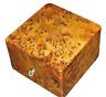 Wooden thuya box Jewelry Box Made Of wooden Thuya Burl,Lockable Wooden handmade
