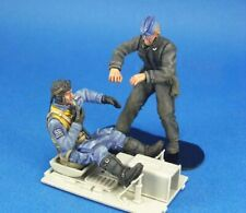 1/24 Resin Figure Model Kit Two German Soldiers Luftwaffe Pilot WW2 Unpainted