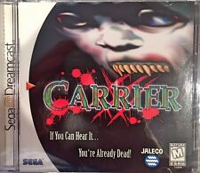 Carrier (Sega Dreamcast, 2000) BRAND NEW SEALED - FREE U.S. SHIPPING - NICE