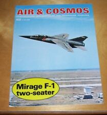 MIRAGE F-1 TWO SEATER MAGAZINE ARTICLE REPRINT PUBLICITY HANDOUT IN FRENCH 1976