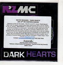 (GI489) Riz MC, Dark Hearts - 2011 DJ CD