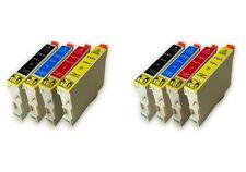 SET 8 cartuchos impresora XL Stylus sx215 dx4400 dx4450 dx5000 T0711