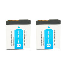 2 x for Sony NP-BD1 NP-FD1 NPBD1 NPFD1 Type D Li-Ion Camera Battery Pack