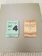 Hoisery Repair Kits, lot of 2, 1940s.