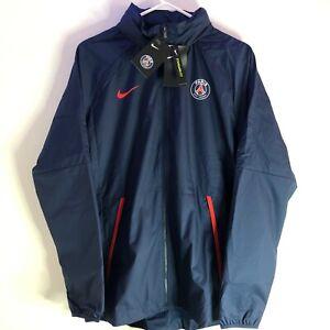 Nike PSG Paris Saint Germain Repel Soccer Jacket Men's L & XXL Navy CI9195-410
