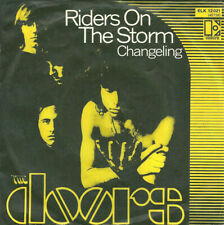 "THE DOORS ~ Riders On The Storm ~ 1971 German Elektra 2-trk 7"" vinyl single~ p/s"