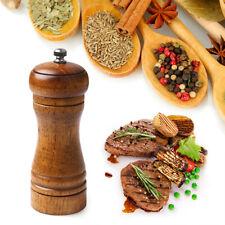 AG_ Manual Wooden Pepper Grinder Spice Sauce Mill Muller Kitchen Gadget Newest