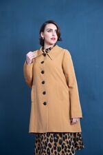 Banned Dancing Days Easy breezy coat rockabilly pin up RRP £79 S UK 10 Beige