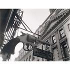 Berenice Abbott New York Gun Shop Photo Black White Extra Large Art Poster