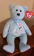 Ty Beanie Baby ~ BRITISH COLUMBIA PACIFIC DOGWOOD Bear ~ Canada Flower ~ MWMT'S