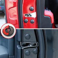12Pcs Anti-Rust Cap Trim Stickers Car Interior Door Lock Screw Protector Cover