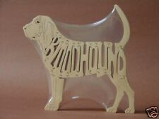 Bloodhound Dog Wood Amish made Scroll Saw Toy Puzzle