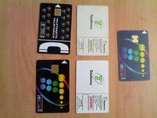 TRES tarjetas telefonica coleccion emitidas años 1995 y 1996