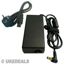 FOR TOSHIBA SATELLITE PRO L40 N193 L300D LAPTOP POWER SUPPLY EU CHARGEURS