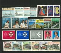 MNZ30) New Zealand 1985 St Johns, Trams, QE II, Military Ships, Xmas MUH
