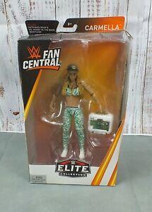 2018 Mattel WWE ELITE COLLECTION Fan Central CARMELLA Action Figures