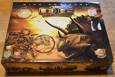 Boîte neuve de 2 grands dinosaures à fouiller et à remonter, stégosaure et...