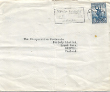 Denmark Typed 1960's Cover To Bristol England My Ref 375A