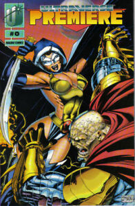 Ultraverse Premiere 0 Coupon Mail Away Exclusive Jim Lee Kevin Maguire Rune VF