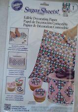 Wilton Sugar Sheet Mod Dots Design For Cake & Cupcakes Decorating New