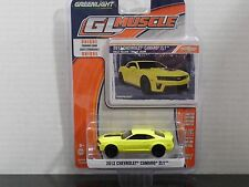GREENLIGHT 2013 CHEVROLET CAMARO ZL1 IN RALLY YELLOW 1:64 SCALE DIECAST SEE PICS