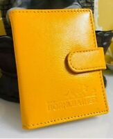 RFID Protected New Genuine Leather Card Holder Notes Oyster Wallet Purse RRP £15