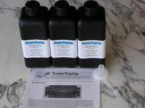 Three Bottle Toner Refill Brother HL 1260 1660 2060 TN-9000  Apple 16 600 M2473G