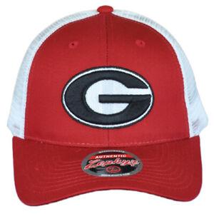 NCAA Zephyr Georgia Bulldogs Mesh Curved Bill Snapback Men Adjustable Hat Cap