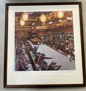 Mick Cawston - Politically Incorrect- *Framed* Signed Limited Edition