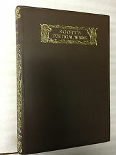 Scott's Poetical Works - Macmillan & Co 1935 Book In Slipcase