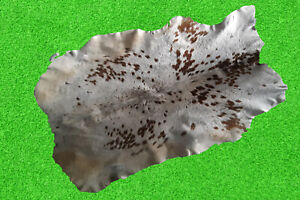 """100% New Cowhide Rugs Area Cow Skin Leather Rugs (48"""" x 43"""") Cow Hide Rug"""