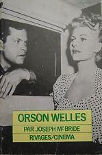 Orson Welles von Joseph Mc Bride Ed Ufer Cinema 1985