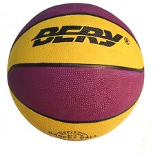 Official Size & Weight Durable Basket Ball *Laker Color Purple & Yellow*