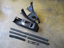 DOPPEL-DIN Mittelkonsole Audi S6 A6 4B CARBON Zierleisten Set schwarz SOUL