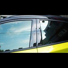Black Door B Pillar Mirror Plate Molding For Hyundai Kona 2018+