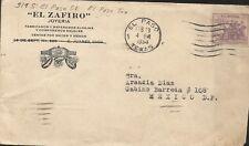 L) 1934 USA, People, dans un Commun Determinacion, 3C, Violette, Poste Aérienne,